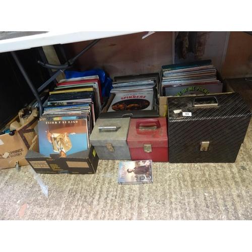 48 - LQ LP's, singles etc...