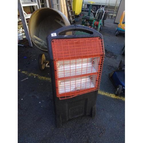 5 - 110v Rhino heater...