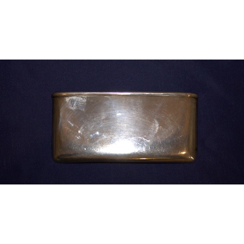 128 - Silver Card holder, Of Plain Form, Fully Hallmarked For Birmingham h 1932, Approx 27.2g...