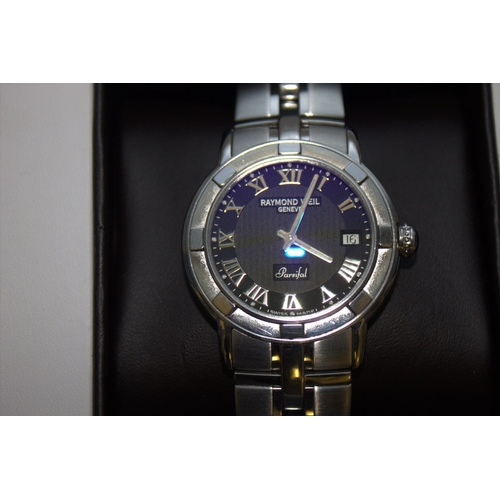 156 - Mint Condition Raymond Weil Parsifal Gents Watch With Boxes and Papers. A lovely gents Raymond Weil ...