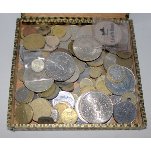 178 - Small Mixed Lot Of Coins To Include Continental, Modern Commemorative Etc....