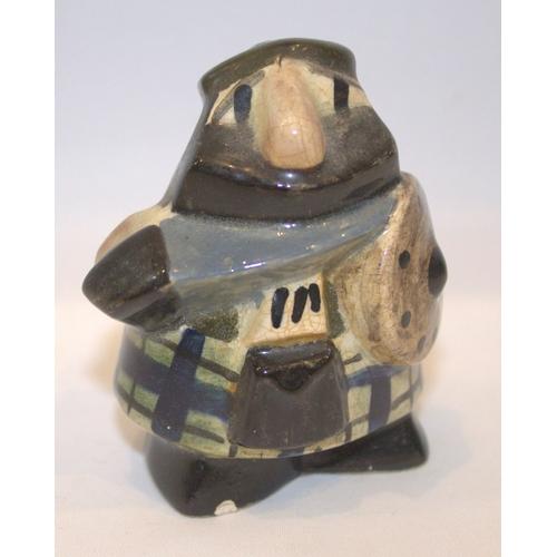 485 - Scottish Marlaw Hamilton Pottery Figure...