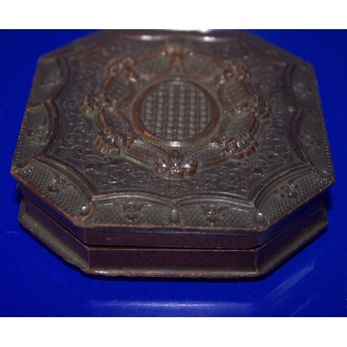 205 - Genuine Union Case with Improved Fine Gilt and Burnished Hinge, S. Peck's Patent 1854. With Double S...