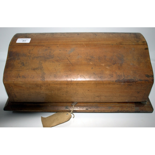 811 - Early 20thC Britannic Desk Top Calculator By Guys, Woodgreen London. In Original Fitted Case...