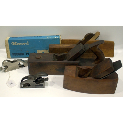 497 - Collection Of Four Wood Planes And Three Rebate Planes, to Include a Record No 73....