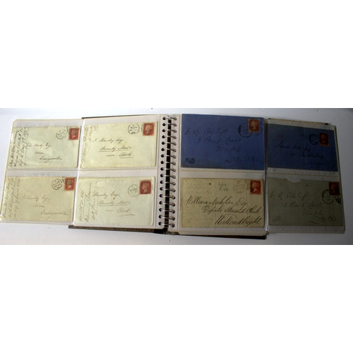 804 - Postal History, Collection Of 50+ Victorian Stamped Envelopes, Mostly With Penny Red Stamps. Some Ge...
