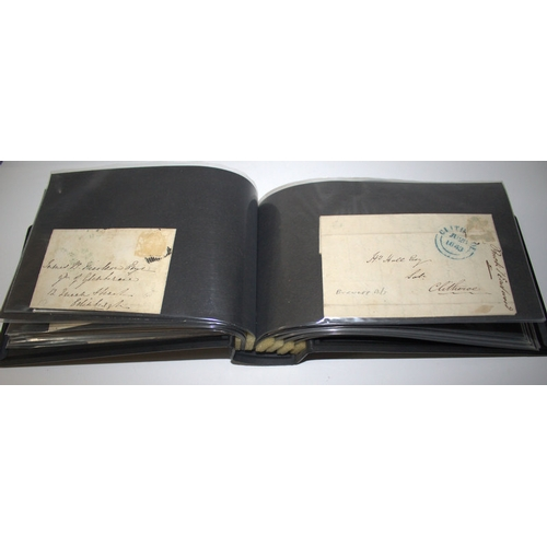 805 - Postal History, Collection Of 32 Early To Mid 19thC Addressed Envelopes, Written Letters etc, Rare D...