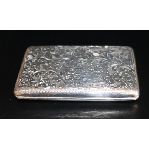134 - Early 20thC Silver Purse, Fully Hallmarked For Chester, Makers Mark For E J Trevitt & Sons, Engraved...