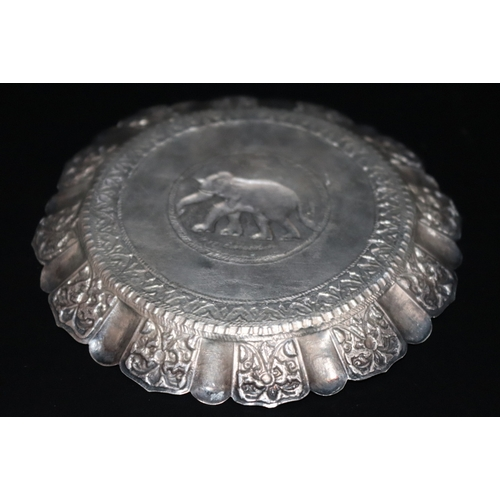 112 - Silver Elephant Pin Dish, 40 Grams Total Weight, Appears Unmarked...