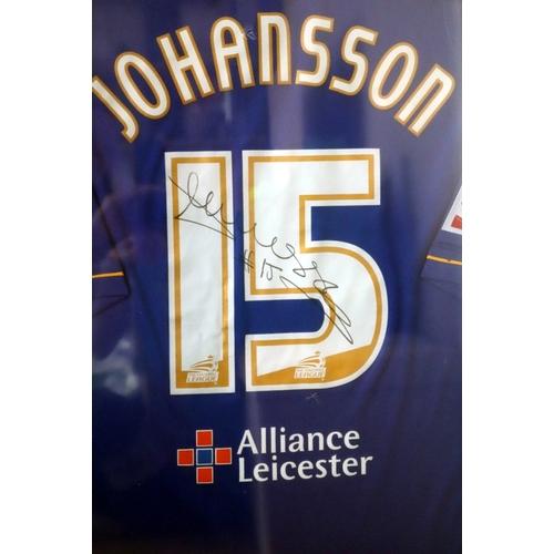 360 - Football Interest, Leicester City Johansson Signed Football shirt 2005-6 Season...