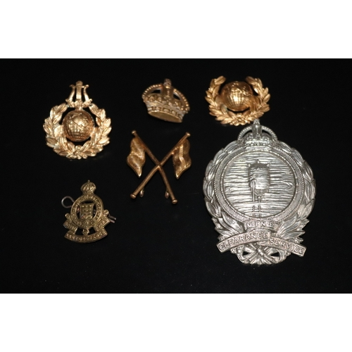 399 - Collection Of 6 Military Badges...