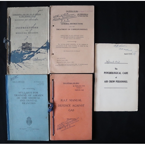 390 - Military Interest, Selection Of Pamphlets To Include 1936 Syllabus For Training Of Airmen Of The Med...