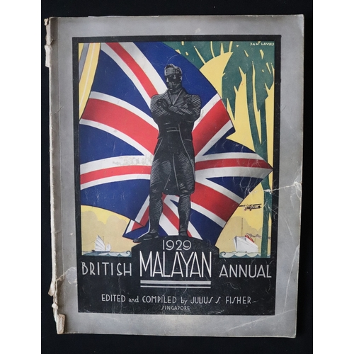 454 - 1929 British Malayan Annual Edited And Compiled By Julius S Fisher Singapore...