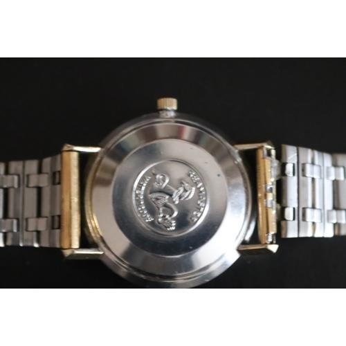 2 - Gents Omega Seamaster De Ville Automatic Wristwatch, Champagne Dial, Baton Numerals, Centre Seconds ...