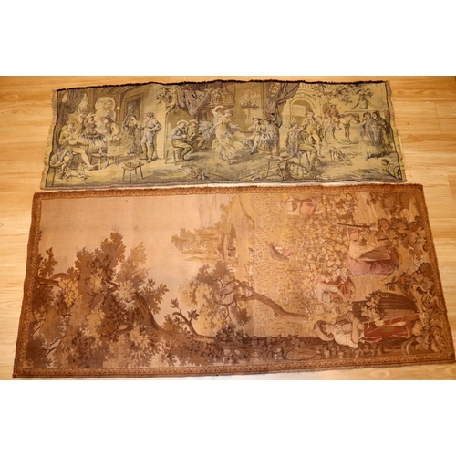 385 - 2 Old Tapestries...