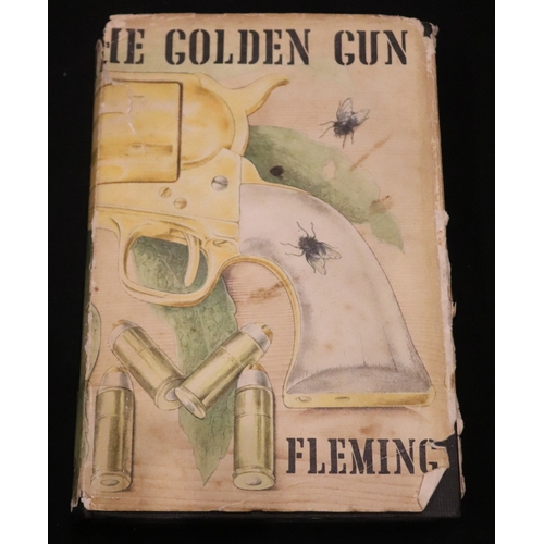 332 - IAN FLEMMING First Edition Man With The Golden Gun, James Bond, 1965 With Dust Jacket...