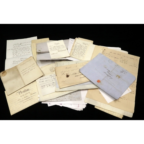 479 - Collection Of 18th/19thC Documents Etc. Associated With The Rose And Crown Public House In Seal, Ken...