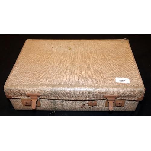 482 - Collection Of Ephemera In A Vintage Attache Case...