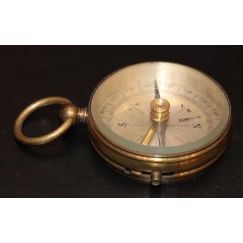 293 - Brass Pocket Compass...
