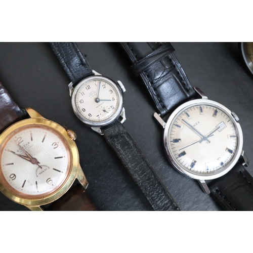 141 - Mixed Collection Of Watches To Include Smiths Empire, Geneva 25 Jewel Super Automatic, Timex, Eterna...