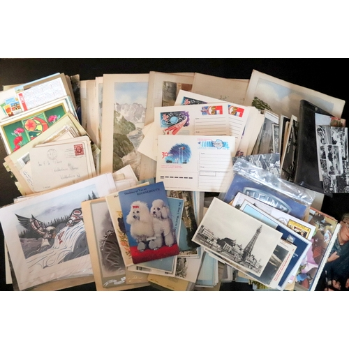 336 - Mixed Lot Of Ephemera To Include Postcards, Photographs, Late 19thC Watercolours, Commemorative Crow...