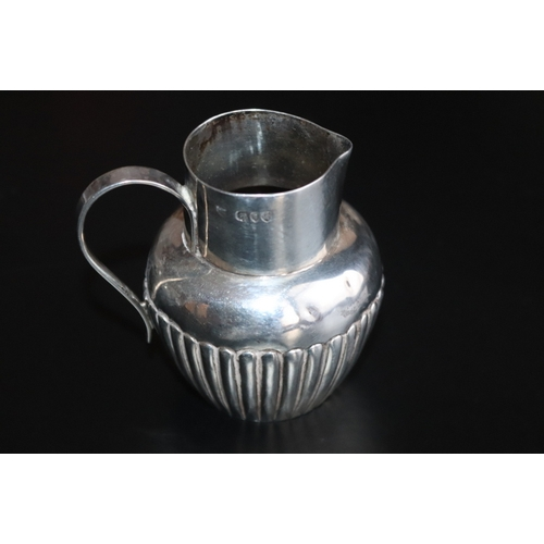 277 - Silver Cream Jug, Fully Hallmarked For London Q 1891, Makers Mark For Edward John Haseler & Noble, H...