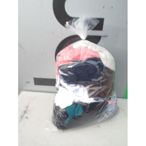 48 - Bag of ladys clothing...