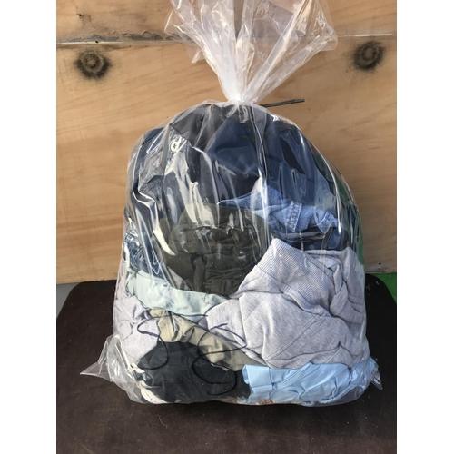 58 - Bag of mens clothing...