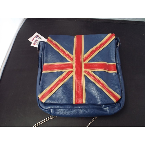 32 - New & tagged Union Jack bag...