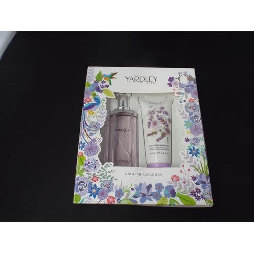 38 - Yardley gift set...