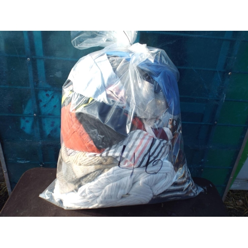 46 - Bag of womens clothing...