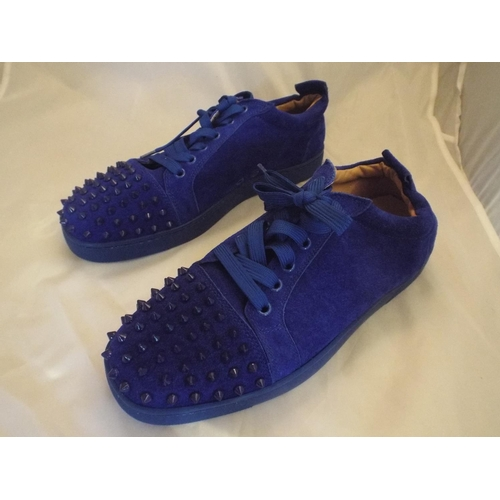 hot sales 3d7ad 4f3f3 Christian Louboutin mens spike trainers size 42