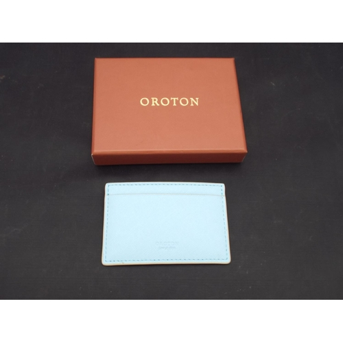 10 - New Oroton credit card wallet...