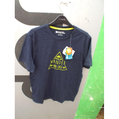 56 - New & tagged Mountain Warehouse T-shirt size M...
