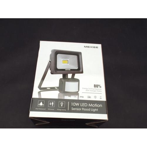 9 - New sensor flood light...