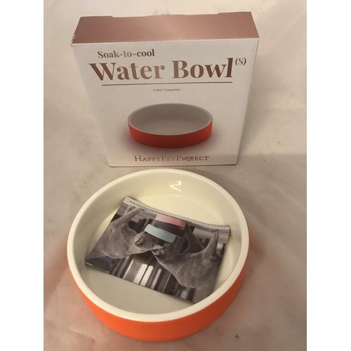 33 - Happy Pet soak to cool water bowl small...