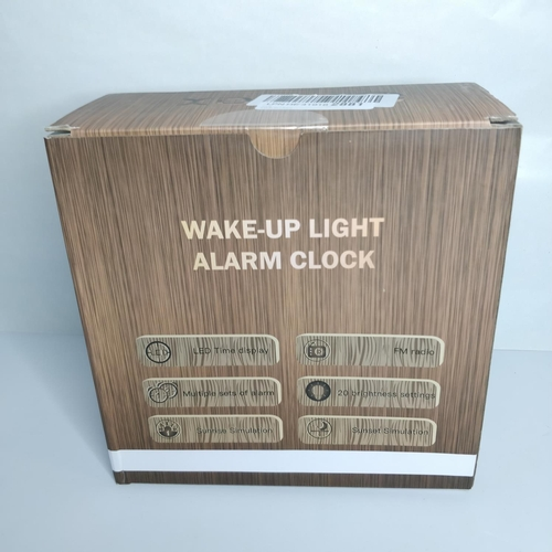 14 - Wake-Up Light Alarm Clock - GRADE B...