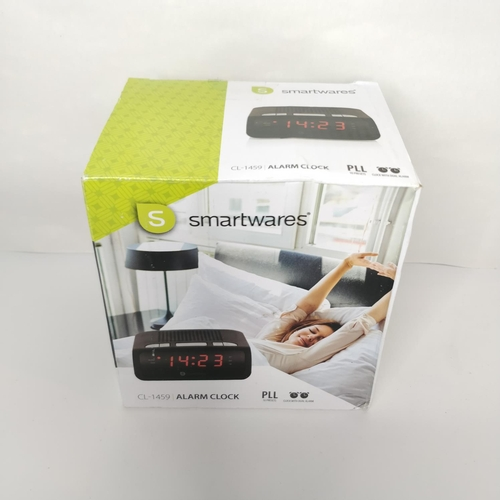 24 - Smartwares CL-1459 Alarm Clock - GRADE A...