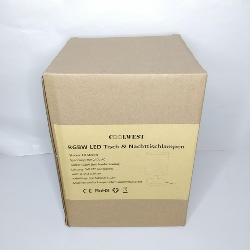 26 - Coolwest RGBW LED Lamp - GRADE A...