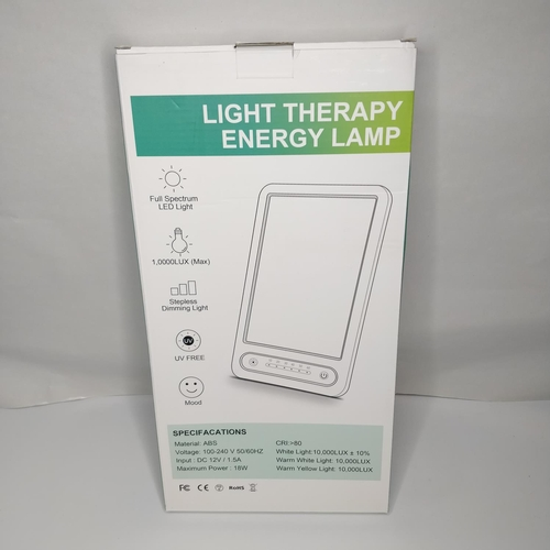34 - Light Therapy Energy Lamp - GRADE A...