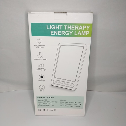 35 - Light Therapy Energy Lamp - GRADE A...