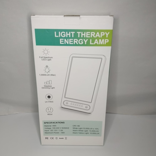36 - Light Therapy Energy Lamp - GRADE A...