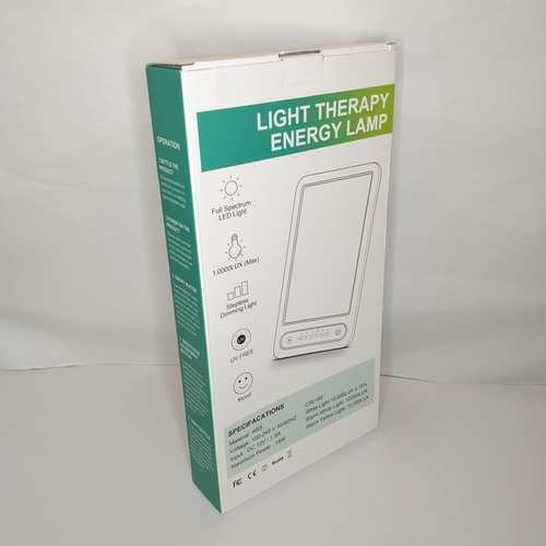 37 - Light Therapy Energy Lamp - GRADE A...