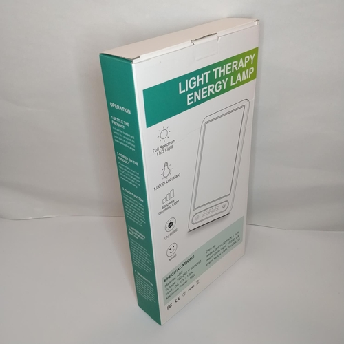 38 - Light Therapy Energy Lamp - GRADE A...