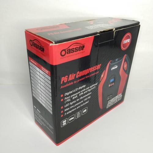 8 - Oasser P6 air compressor 150PSi - GRADE U...