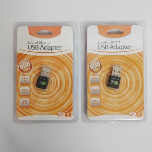 33 - 2 x DUAL BAND USB ADAPTER...