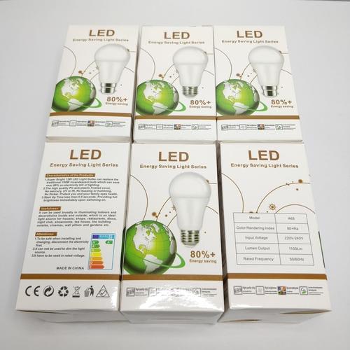 13 - 6 PACK E27 12W LED LIGHT BULB