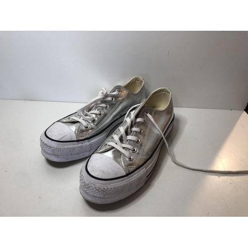 4 - Converse shoes  Size UK 6