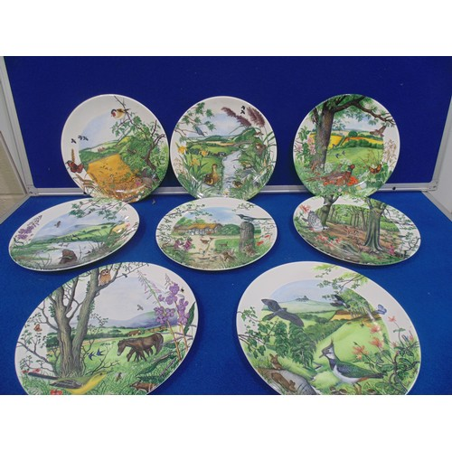 38 - Wedgewood collectors plates by Colin Newman...