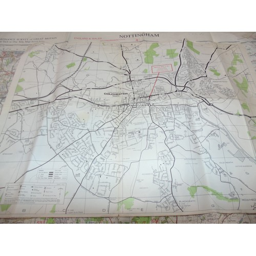 16 - Ordnance survey maps...